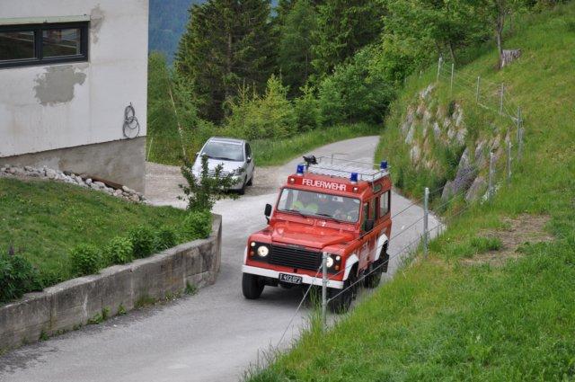 Gemeinschaftsübung der Feuerwehren Wattenberg, Wattens und Volders