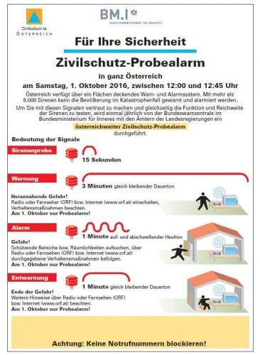 Zivilschutzalarm