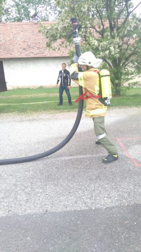 Härtester Feuerwehrmann Österreichs gesucht