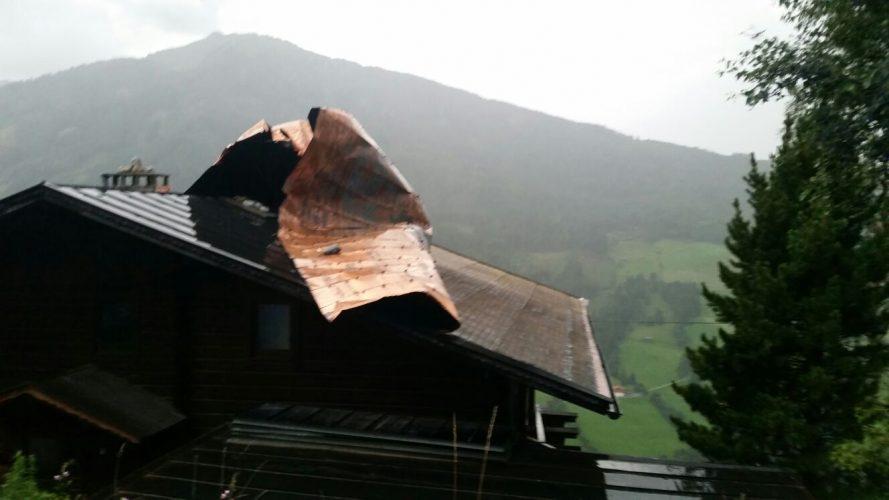 Unwetter über Wattenberg