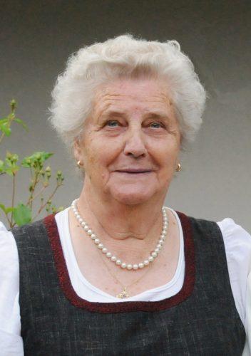 Trauer um Fahnenpatin Johanna Geißler